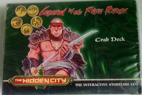 L5R The Hidden City Готовая колода