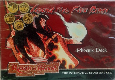 L5R Reign of Blood Готовая колода