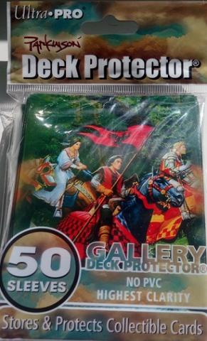 Кармашки с рисунком Рыцари 50шт