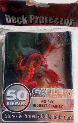 Кармашки с рисунком Драконы 50шт