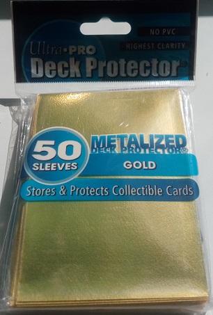 Кармашки металлизированные Золото