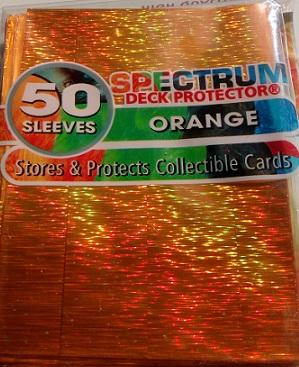 Кармашки Spectrum оранжевые