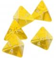 4-гранный кубик прозрачный
