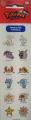 Покемон: Набор наклеек №01