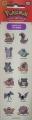 Покемон: Набор наклеек №04