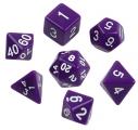 Набор кубиков 7 шт. непрозрачных  в пакете