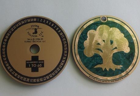 Счетчик жизней Green Mana Symbol