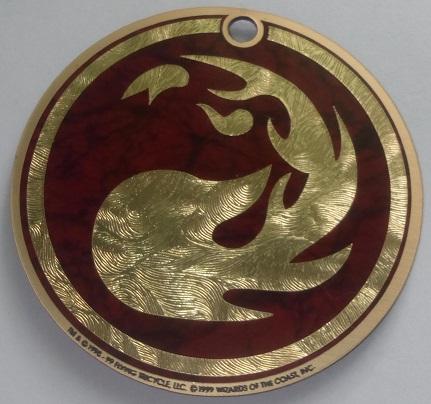 Счетчик жизней Red Mana Symbol
