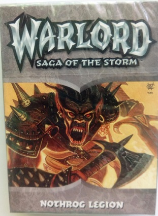 Warlord Saga of the Storm Готовая колода
